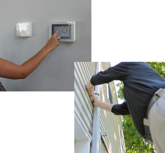 installing-security-control-panel-and-general-security-tech-installing-outdoor-camera-1