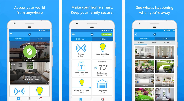 ADT-Pulse - App Screenshots