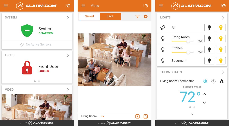Alarm.com-screenshots