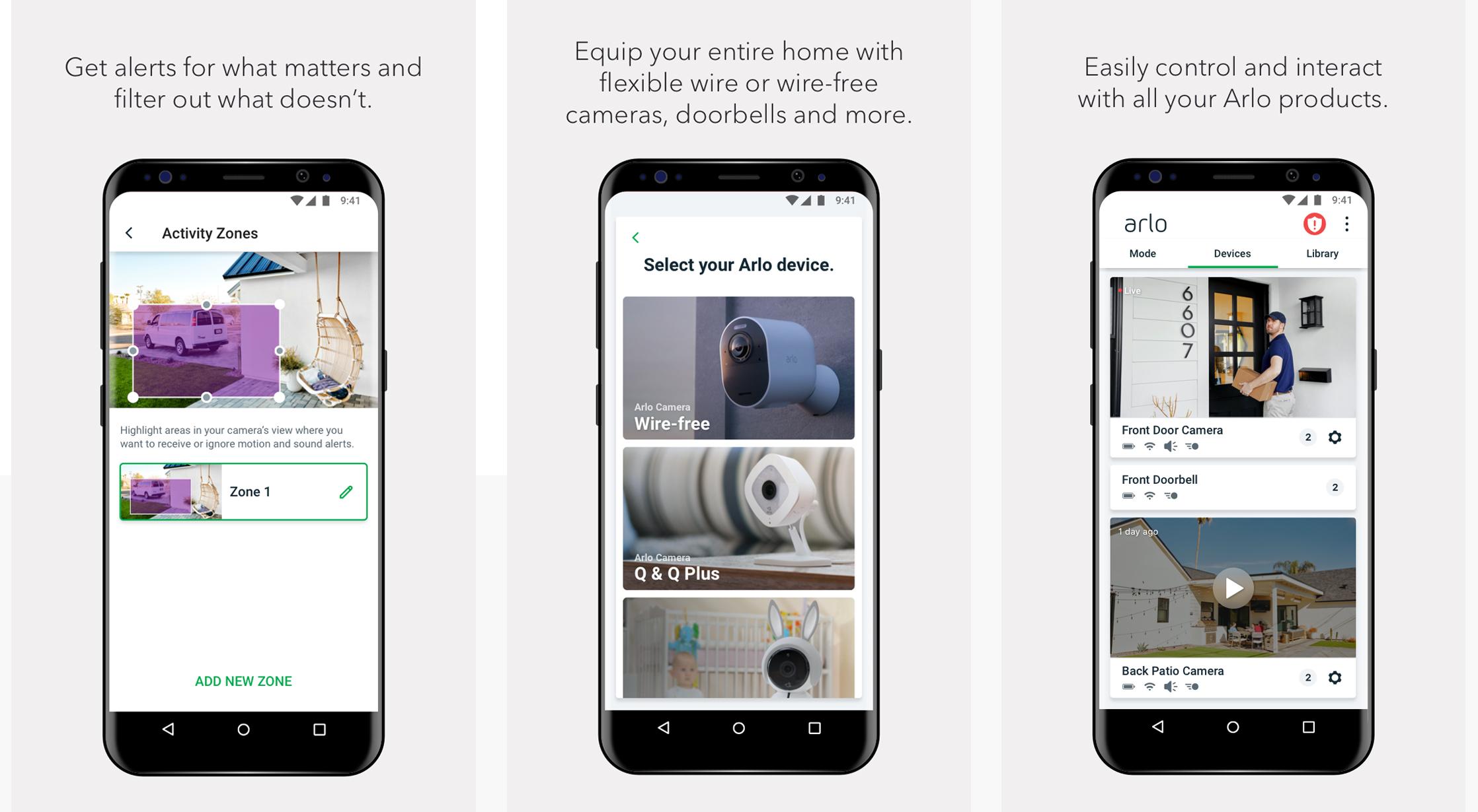 Arlo-App---Screenshots