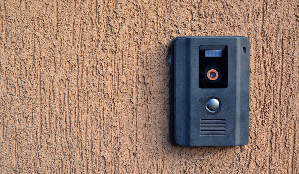 Doorbell Video Camera outside residency
