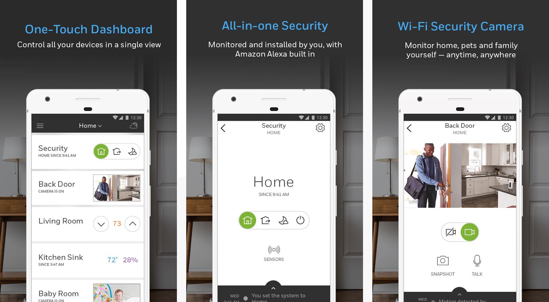 Honeywell-Home---App-Screenshots