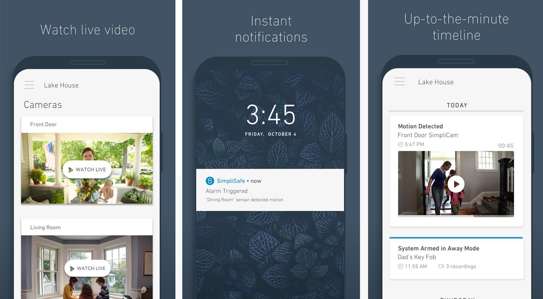 SimpliSafe-App---Screenshots
