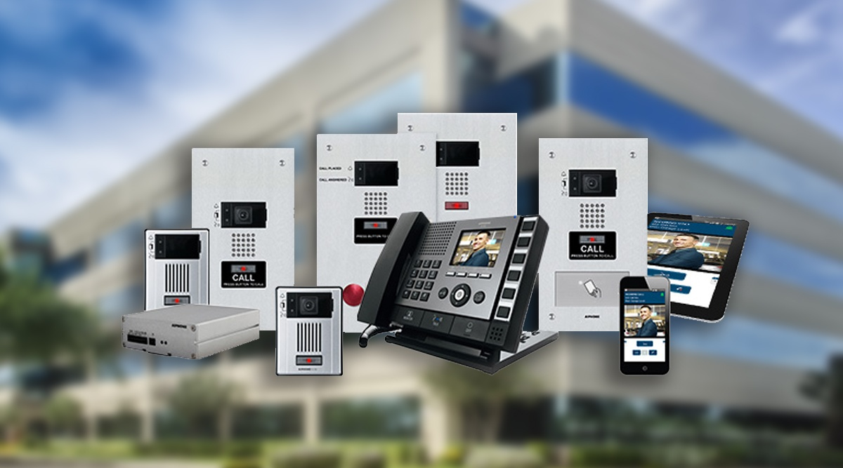 intercom entrance system hardware