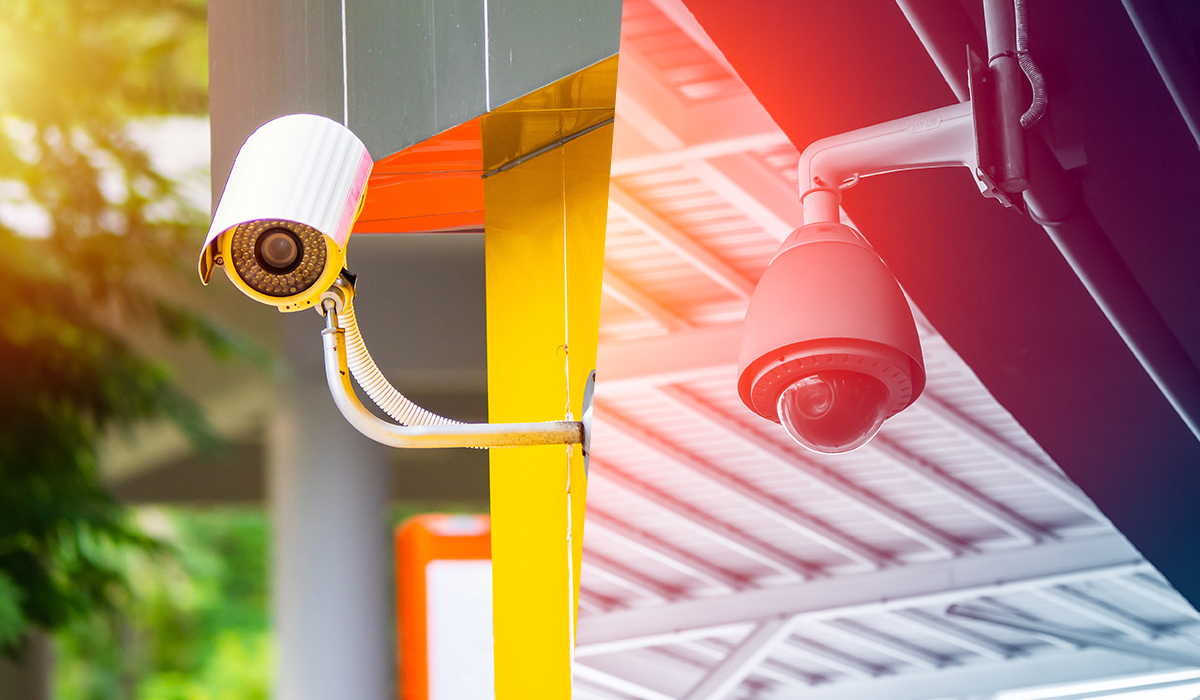Images of Bullet Camera and Dome Camera
