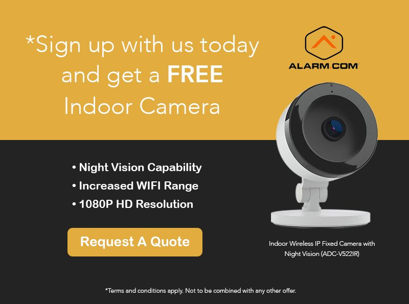 Alarm.com Indoor Camera Offer